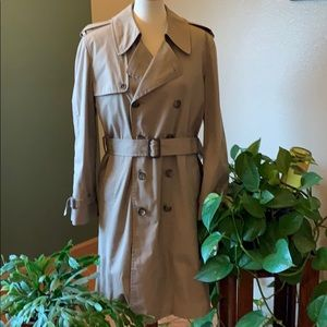 Vintage London Fog Trench Coat.
